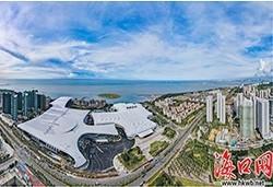 海南国际会展中心二期进入设备系统调试阶段