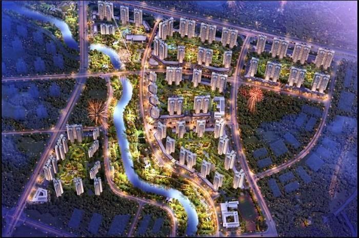 碧桂园太东公园上城在售42栋,送装修