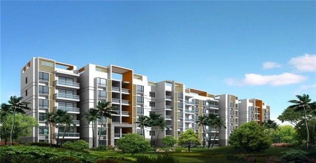 天长椰风水韵3#、4#、5#顶楼房源在售 主推户型建筑面积有63平2居