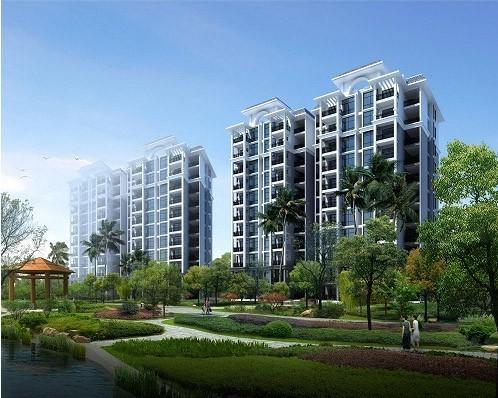 万宁宝安兴隆椰林湾带装修交付,公寓和住宅在售