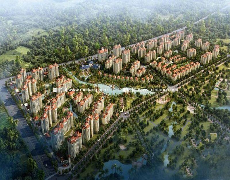 万宁国瑞城 鸟瞰图