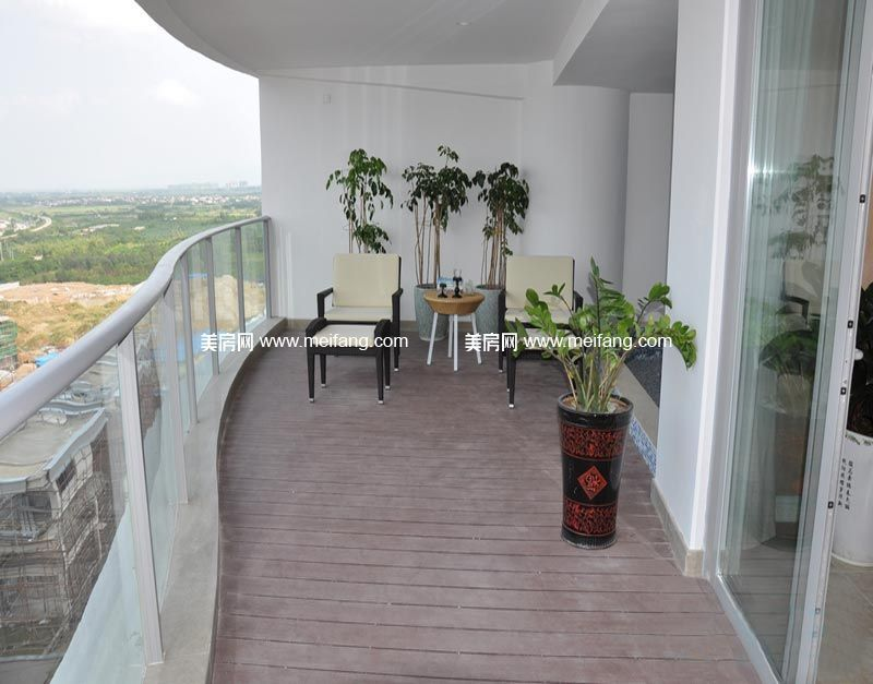 龙栖湾波波利海岸 样板间:阳台