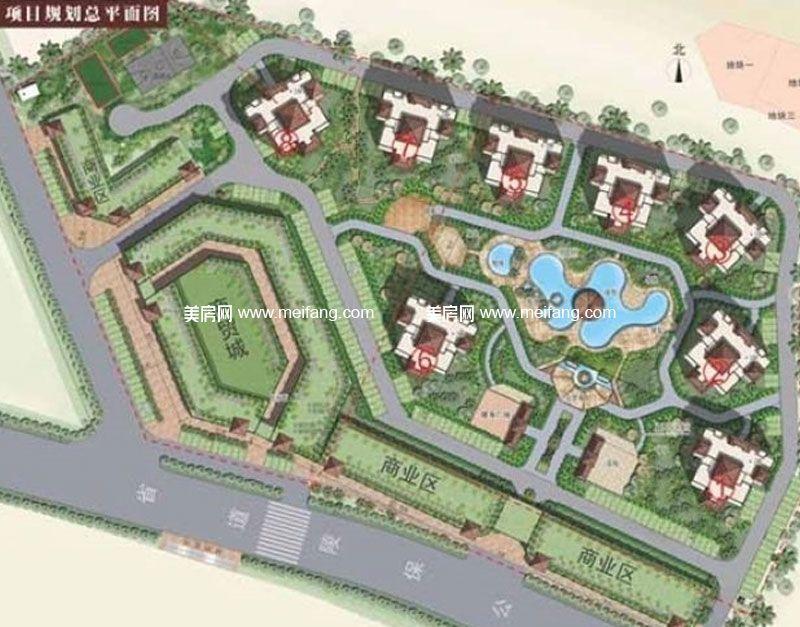 珍珠湾风情小镇 项目规划图