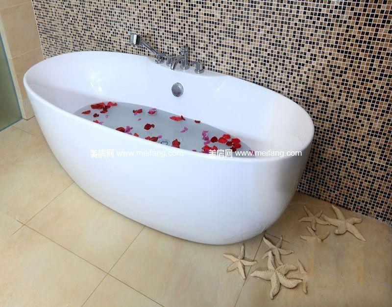 隆源神州半岛 样板间:浴缸