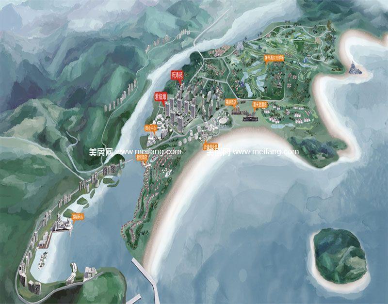 隆源神州半岛 2#鸟瞰图