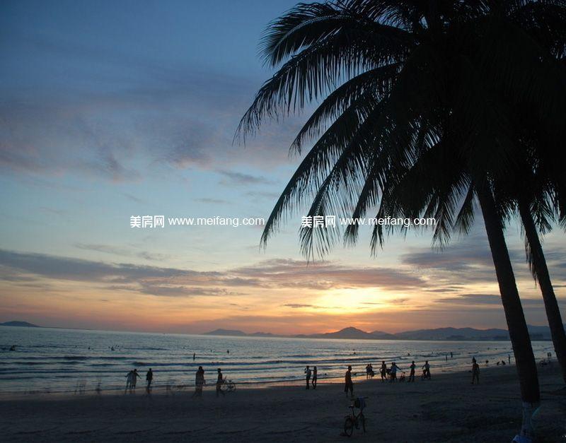 海岸名都 周边配套:三亚湾美景