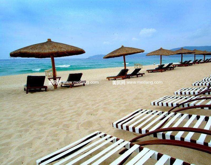 海岸名都 周边配套:三亚湾沙滩