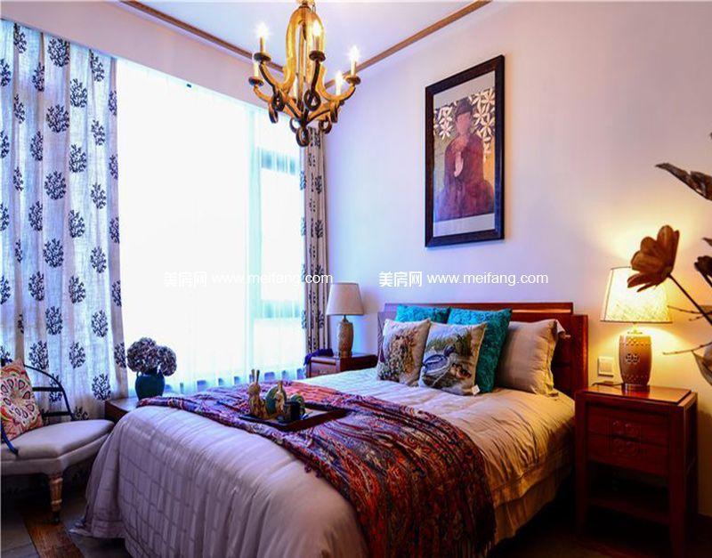南枫禅墅 样板间:卧室
