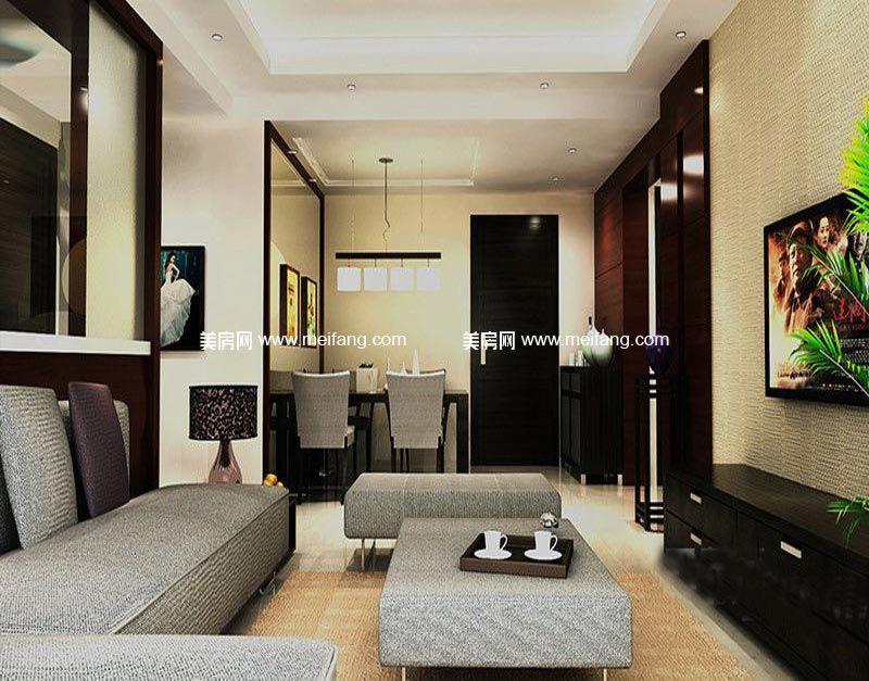 汇丰国际度假公寓 9号楼A户型样板间-客厅