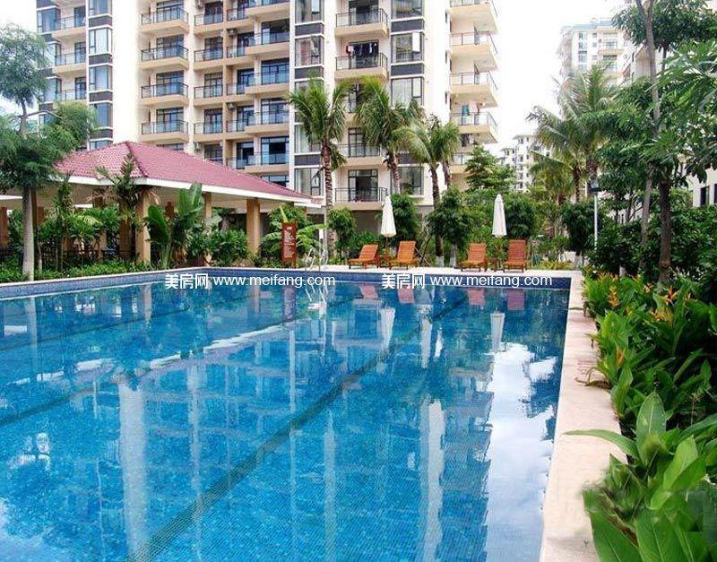 汇丰国际度假公寓泳池实景图