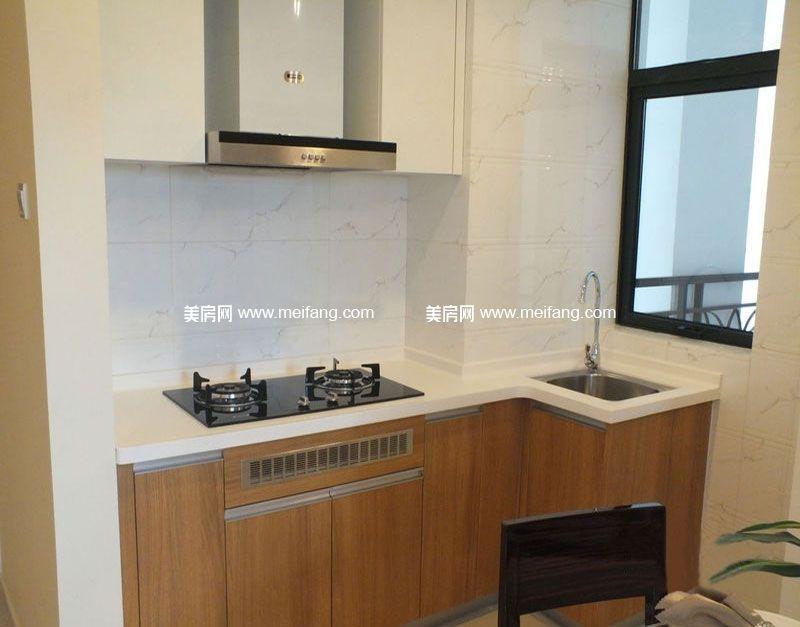 万宁国瑞城 A2户型1房1厅1厨1卫 57㎡样板间:厨房