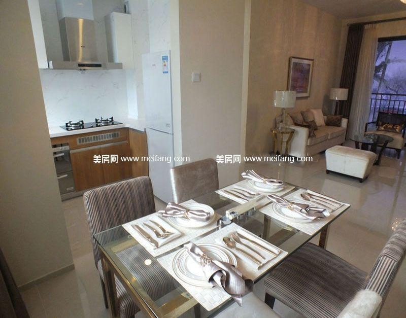 万宁国瑞城 B2户型1房1厅1厨1卫65㎡ 样板间:厨房