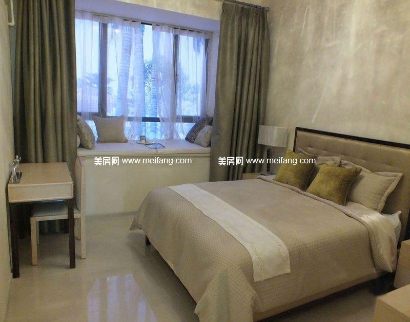 万宁国瑞城 B2户型 1房1厅1厨1卫 65㎡ 样板间:卧室