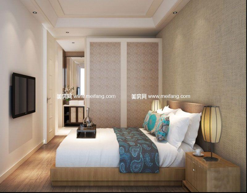 滨海新天地 B户型样板间:卧室