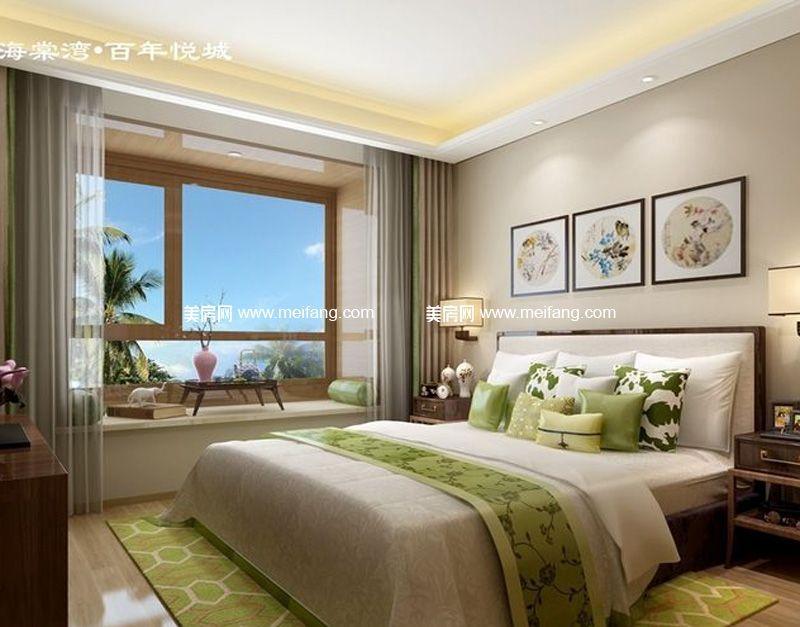 华悦海棠 户型-卧室