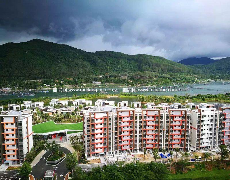 隆源神州半岛 三期山海居实景图