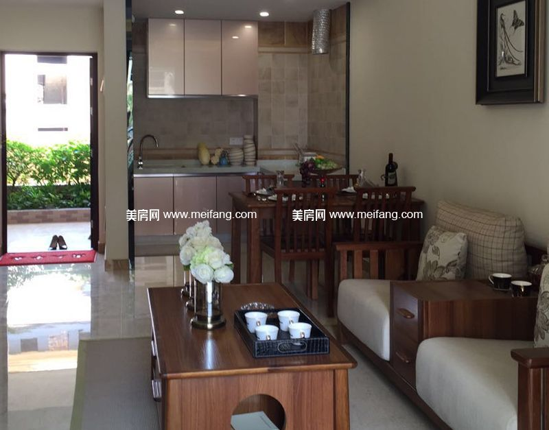 龙憩园中园 C3户型样板间:客厅