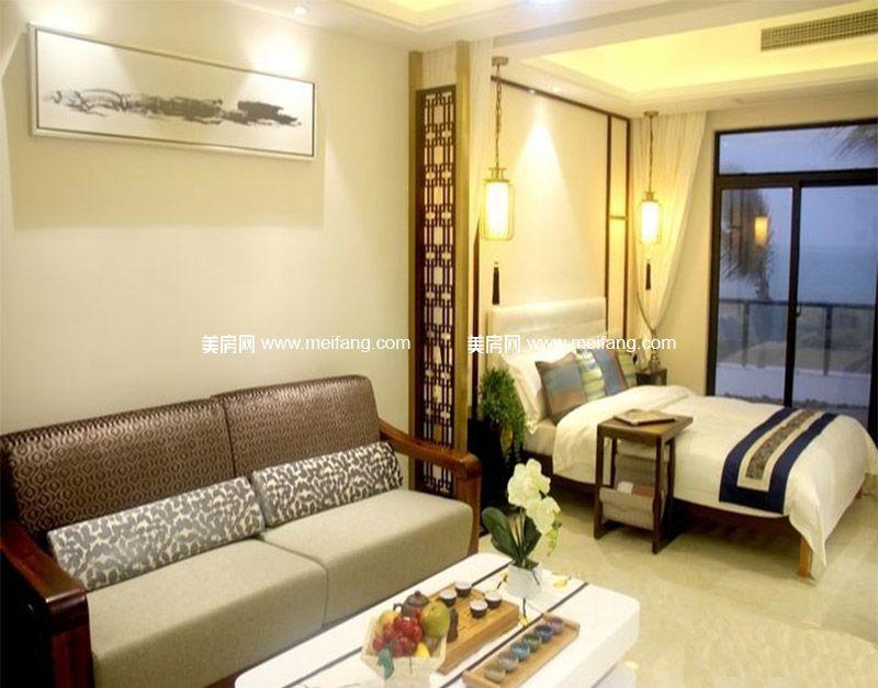 平海美龄湾 样板间:客厅、卧室