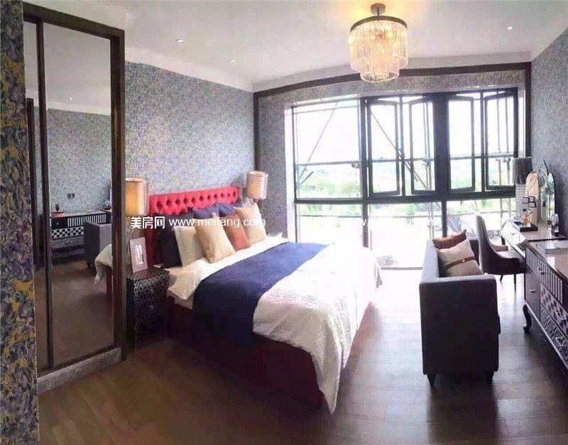 观澜湖 观邸二期样板间:卧室