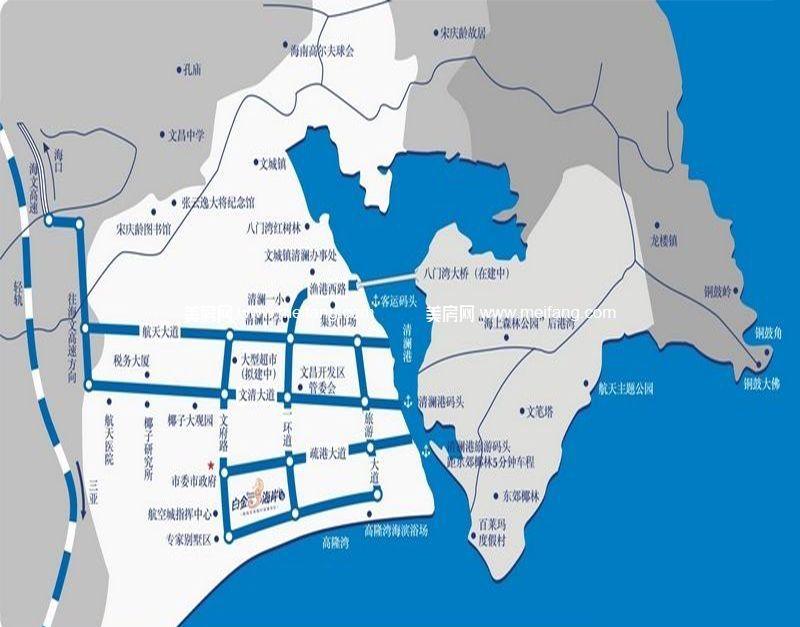 白金海岸 位置图