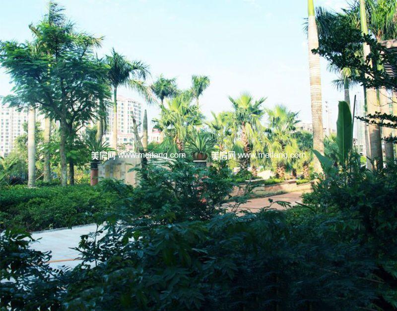 四季春城温泉谷 温泉谷小区实景