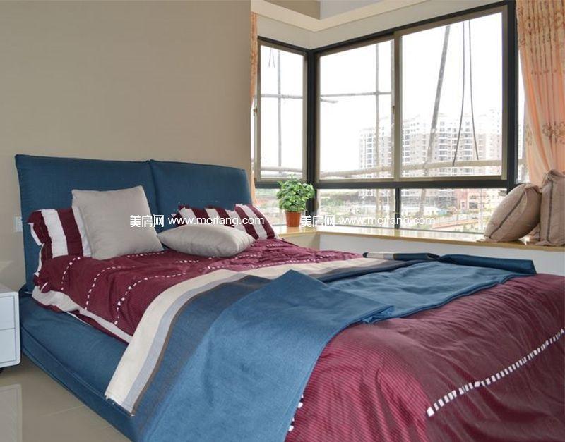 四季春城温泉谷 10号楼81㎡样板间:卧室