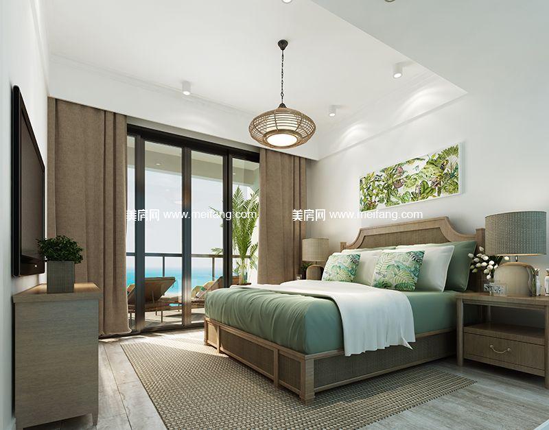 融创日月湾 65㎡样板间:卧室