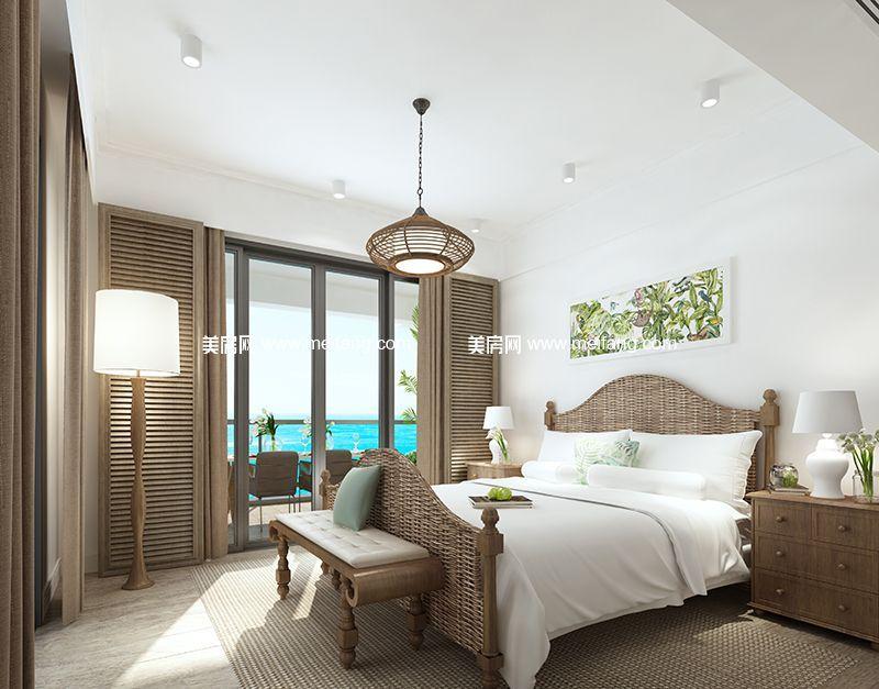 融创日月湾 150㎡样板间:卧室