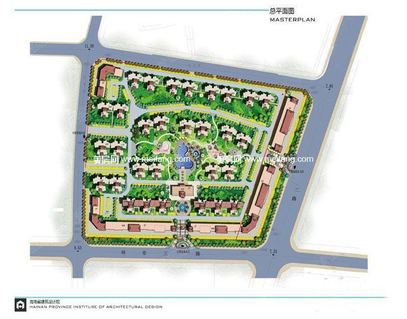 万福家园 规划图