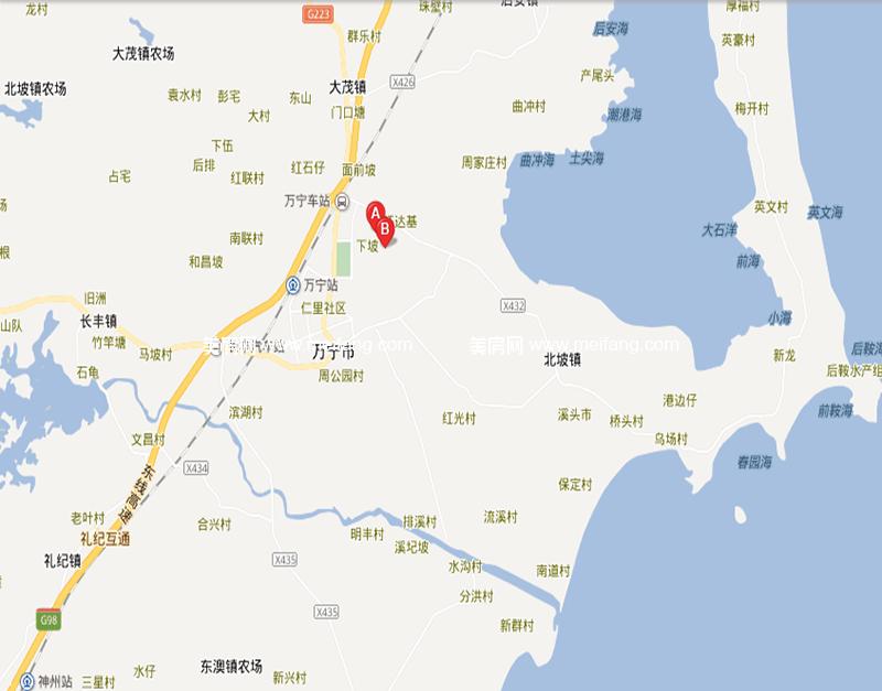 木棉山莊 区位图