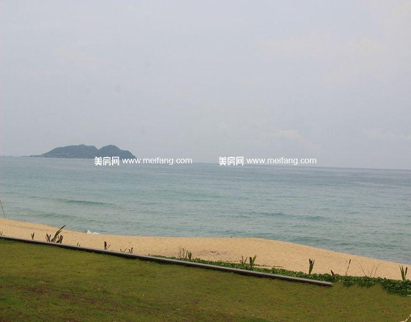 小区内海实景图