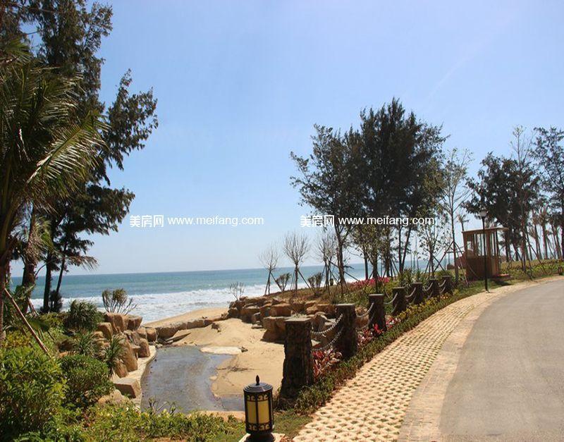 小区内海景实景图