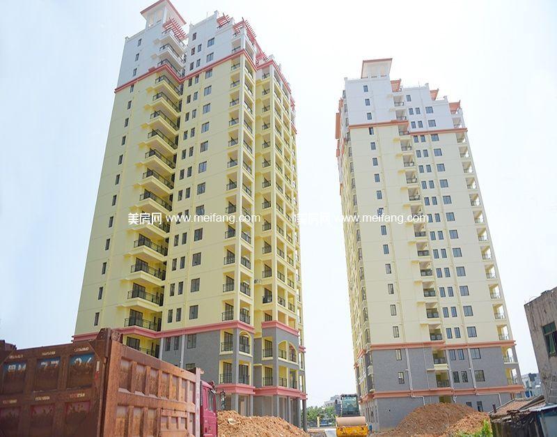珍珠湾风情小镇社区楼栋实景图