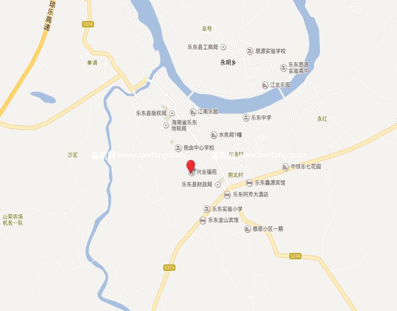 兴业福苑 区位图