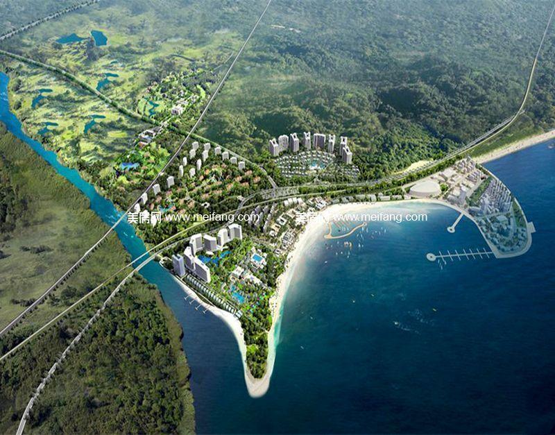 龙栖湾波波利海岸 5000亩规划图