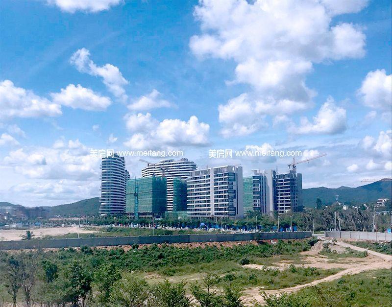 红塘湾鲁能公馆 小区楼栋实景图