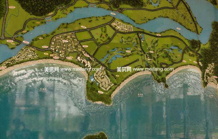 隆源神州半岛 规划图
