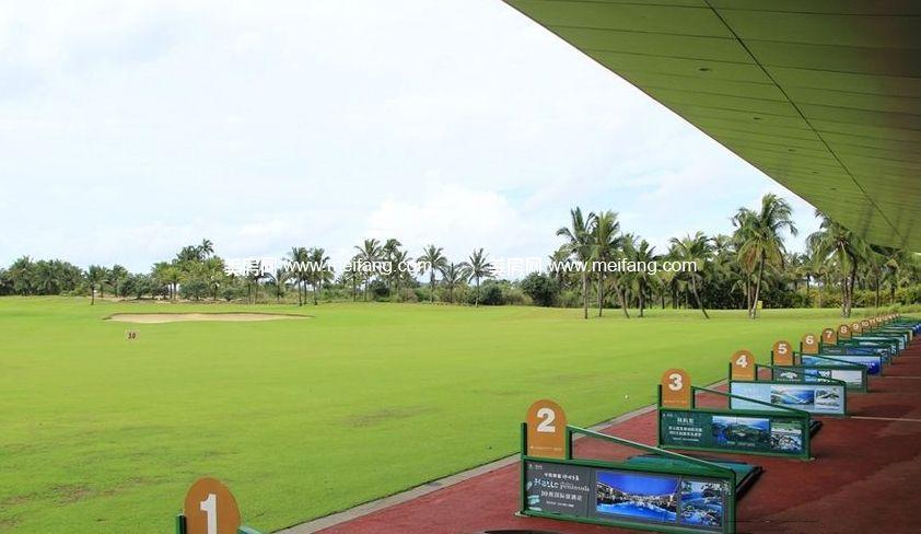 隆源神州半岛 周边配套:高尔夫球场