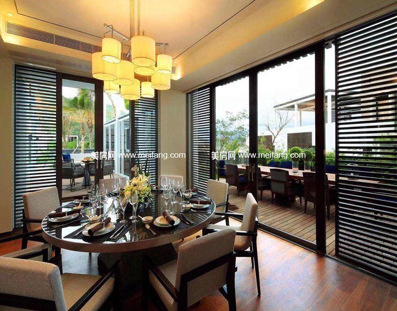 三亚太阳湾别墅 样板间:餐厅