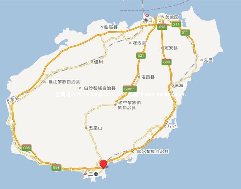 国寿嘉园逸境 省区位图
