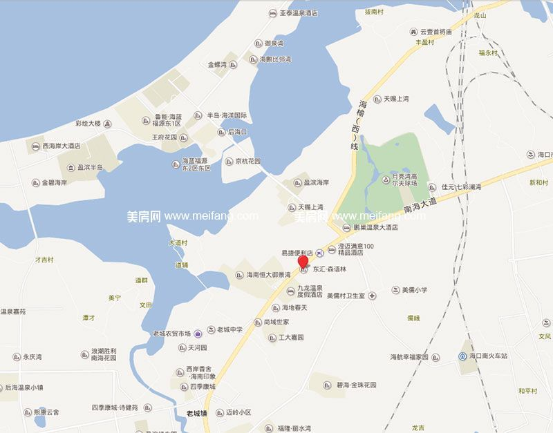 东汇森语林 区位图