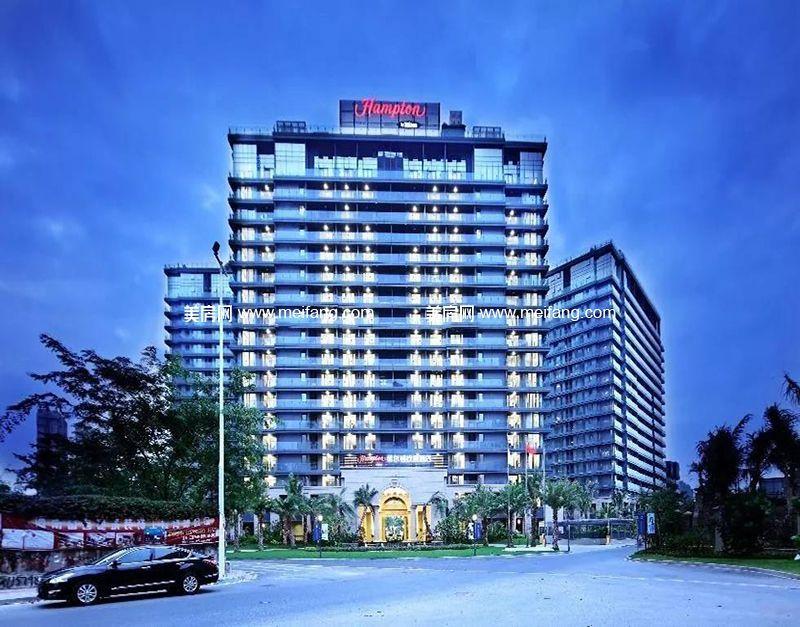 天骄海棠湾 周边配套;希尔顿欢朋酒店