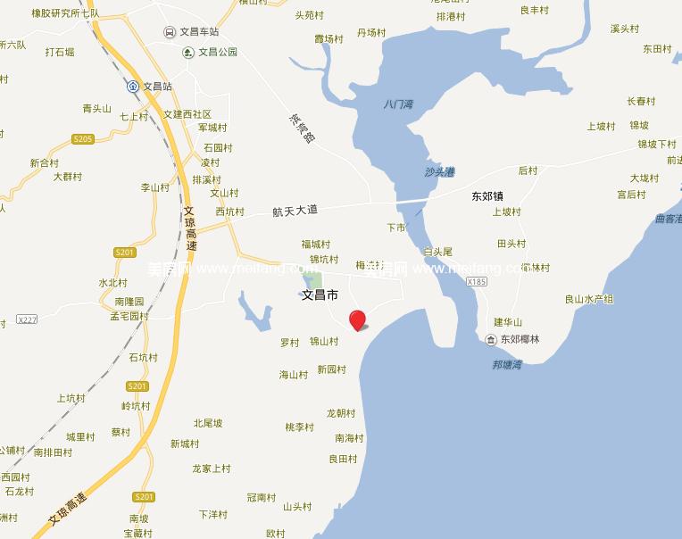 波溪丽亚湾 位置图