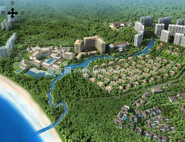 新華聯香水灣鳥瞰圖