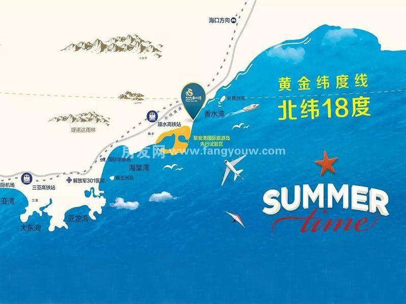 新华联香水湾区位图