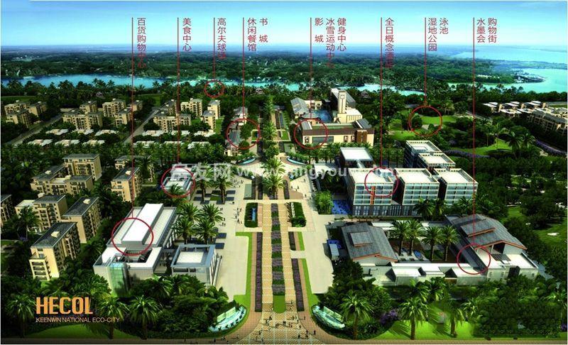 开维生态城 项目规划图