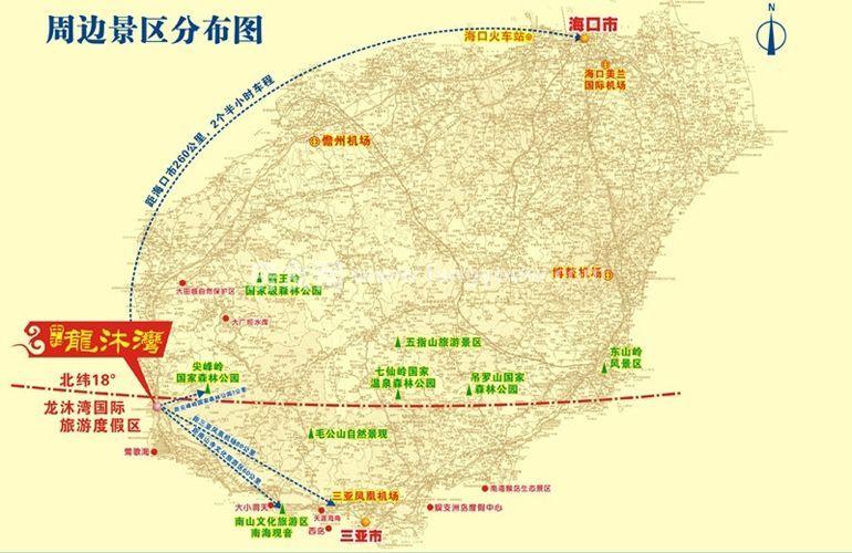 中和龙沐湾海润源 区位图