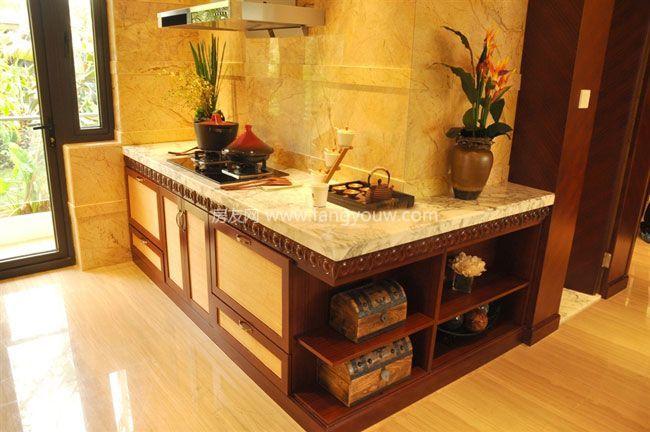 大华锦绣海岸 样板间:厨房