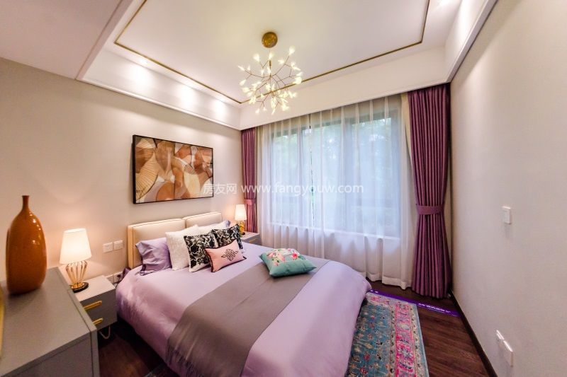大华锦绣海岸 样板间:卧室