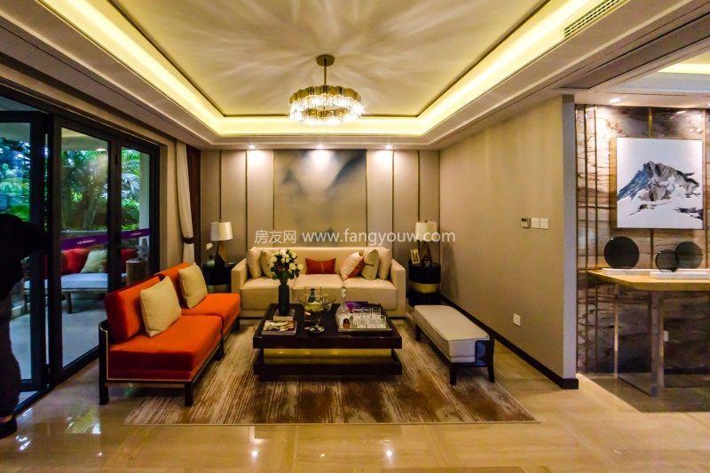 大华锦绣海岸 样板间:客厅